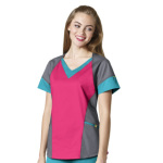 Wink Scrubs 6703 Women's V-Neck Tri Top