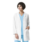 Wink Scrubs 7112 7112 Luna - Lab Coat With Zip Pocket