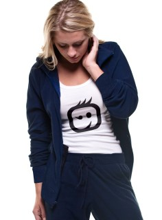 Wink Scrubs 8019 Cotton Fleece Zip Front Jacket