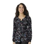 Wink Scrubs 8117 Printed Button Front Jacket