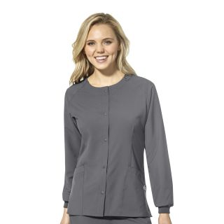 Wink Scrubs 8155 Crew Neck Warm Up Jacket