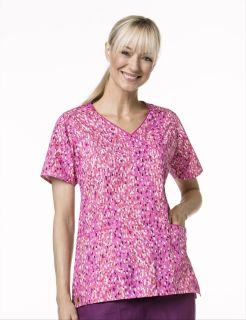 Wink Scrubs C10307 Y-Neck Wrap Top