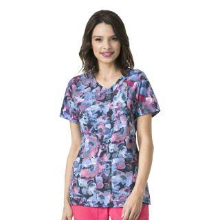 Wink Scrubs C12214 C12214 Printed Y-Nk Fashion Top