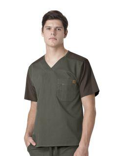 Wink Scrubs C14108 Men's Color Block Top
