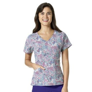 Wink Scrubs V6217 FRIDA Empire Waist Top