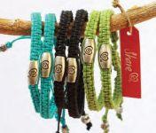 White Swan AC334 Trust Your Journey Share Adjustable Bracelets