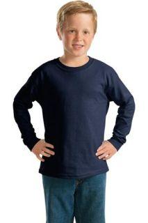 SanMar Gildan 2400B, Gildan® - Youth Ultra Cotton® Long Sleeve T-Shirt.