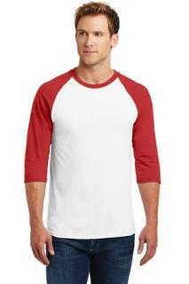 SanMar Gildan 5700, Gildan® Heavy Cotton™ 3/4-Sleeve Raglan T-Shirt.