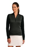 SanMar Nike 578674, Nike Ladies Dri-FIT 1/2-Zip Cover-Up.