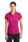 SanMar Nike 838961, Nike Ladies Dri-FIT Crosshatch Polo.