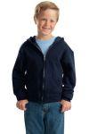 SanMar Jerzees 993B, Jerzees® - Youth NuBlend® Full-Zip Hooded Sweatshirt.