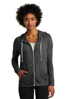SanMar Alternative Apparel AA2896, Alternative Womens Eco-Jersey Cool-Down Zip Hoodie.