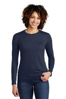 SanMar  AL6008, Allmade ®  Womens Tri-Blend Long Sleeve Tee