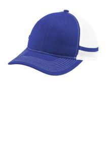 SanMar Port Authority C113, Port Authority ® Two-Stripe Snapback Trucker Cap.