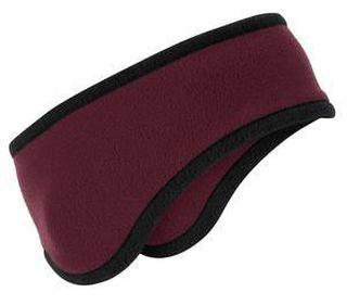 SanMar Port Authority C916, Port Authority® Two-Color Fleece Headband.