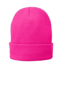 SanMar Port & Company CP90L, Port & Company® Fleece-Lined Knit Cap.