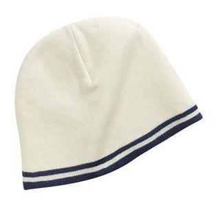 SanMar Port & Company CP93, Port & Company® Fine Knit Skull Cap with Stripes.