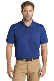 SanMar CornerStone CS4020P, CornerStone ® Industrial Snag-Proof Pique Pocket Polo.