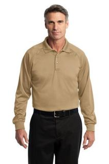 SanMar CornerStone CS410LS, CornerStone® - Select Long Sleeve Snag-Proof Tactical Polo.