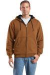 SanMar CornerStone CS620, CornerStone - Heavyweight Full-Zip Hooded Sweatshirt with Thermal Lining.