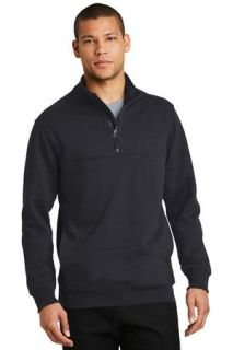 SanMar CornerStone CS626, CornerStone® 1/2-Zip Job Shirt.