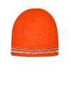 SanMar CornerStone CS804, CornerStone ®  Lined Enhanced Visibility with Reflective Stripes Beanie