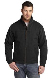 SanMar CornerStone CSJ40, CornerStone® Washed Duck Cloth Flannel-Lined Work Jacket.