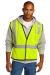 SanMar CornerStone CSV100, CornerStone ® ANSI 107 Class 2 Economy Mesh One-Pocket Vest.