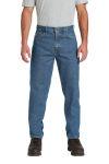 SanMar Carhartt CTB17, Carhartt ® Relaxed-Fit Tapered-Leg Jean .