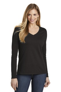 SanMar District DT6201, District ® Womens Very Important Tee ® Long Sleeve V-Neck.