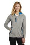 SanMar Eddie Bauer EB245, Eddie Bauer ® Ladies Sport Hooded Full-Zip Fleece Jacket.