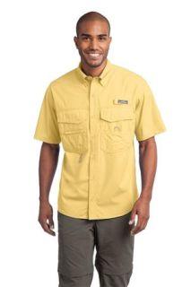 SanMar Eddie Bauer EB608, Eddie Bauer® - Short Sleeve Fishing Shirt.