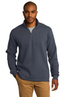 SanMar Port Authority F295, Port Authority® Slub Fleece 1/4-Zip Pullover.