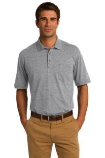 SanMar Port & Company KP55P, Port & Company® Core Blend Jersey Knit Pocket Polo.