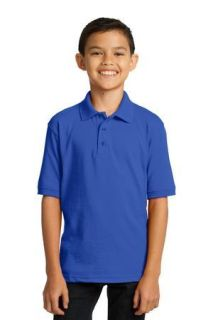 SanMar Port & Company KP55Y, Port & Company® Youth Core Blend Jersey Knit Polo.