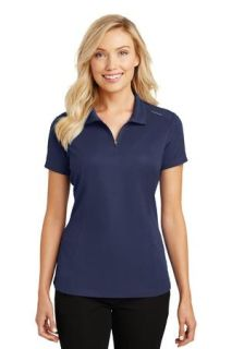 SanMar Port Authority L580, Port Authority® Ladies Pinpoint Mesh Zip Polo.