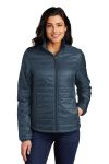 SanMar Port Authority L850, Port Authority ®Ladies Packable Puffy Jacket