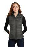 SanMar Port Authority L851, Port Authority  Ladies Packable Puffy Vest