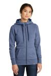 SanMar New Era LNEA502, New Era ® Ladies French Terry Full-Zip Hoodie.