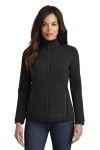 SanMar OGIO LOG724, OGIO ® Ladies Axis Bonded Jacket.