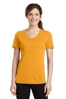 SanMar Port & Company LPC381V, Port & Company® Ladies Performance Blend V-Neck Tee.