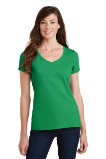 SanMar Port & Company LPC450V, Port & Company® Ladies Fan Favorite V-Neck Tee.