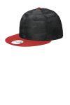 SanMar New Era NE407, New Era ® Camo Flat Bill Snapback Cap