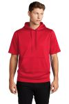 SanMar Sport-Tek ST251, Sport-Tek ® Sport-Wick ® Fleece Short Sleeve Hooded Pullover.