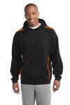 SanMar Sport-Tek ST265, Sport-Tek® Sleeve Stripe Pullover Hooded Sweatshirt.