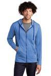 SanMar Sport-Tek ST293, Sport-Tek ® PosiCharge ® Tri-Blend Wicking Fleece Full-Zip Hooded Jacket