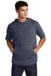 SanMar Sport-Tek ST404, Sport-Tek ® PosiCharge ® Tri-Blend Wicking Short Sleeve Hoodie.