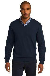 SanMar Port Authority SW285, Port Authority® V-Neck Sweater.