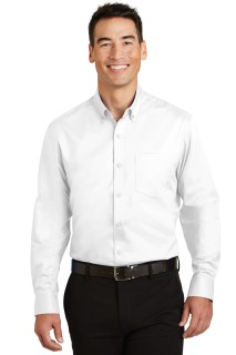 SanMar Port Authority TS663, Port Authority® Tall SuperPro Twill Shirt.