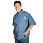 SNW Postal Denim Shirt Short Sleeve - Imported
